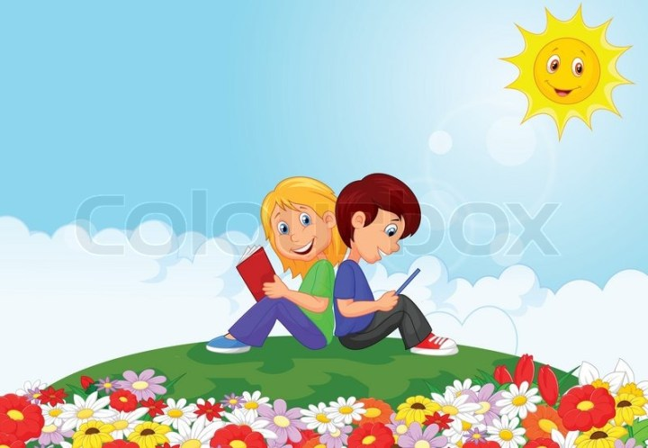 Cartoon Images Flower Garden Cartoon Ankaperla Com