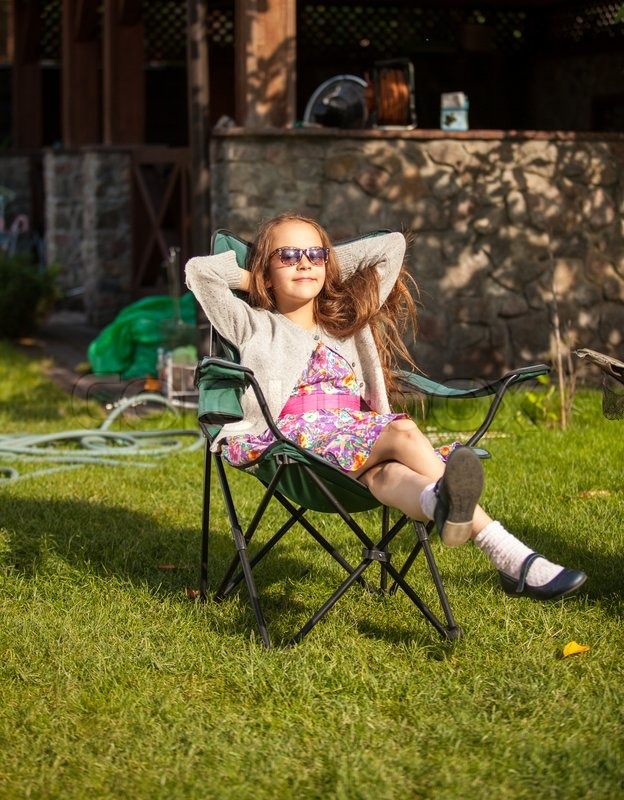 Young cute girl in sunglasses   Stock Photo  Colourbox