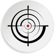 crosshair reticle viewfinder