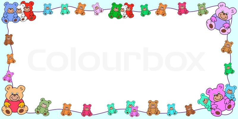 Grnse barndom clipart  stock vektor  Colourbox