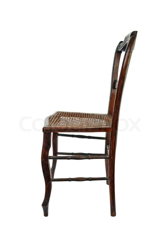 antique wooden chairs pictures cool rocking for nursery chair with cane isolated stock photo colourbox