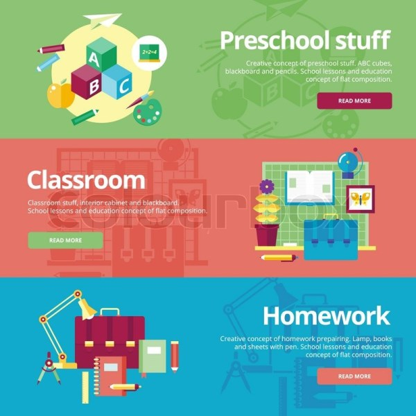 Preschool Classroom Website Banner
