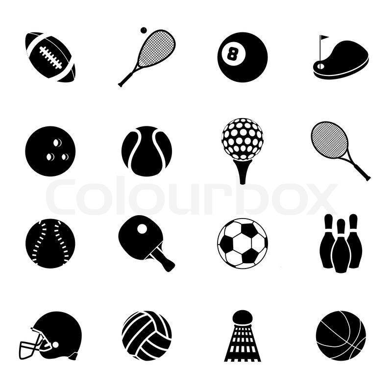 Outdoor recreation sport activities accessories black