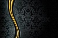 Black Luxury Background   Stock Vector   Colourbox