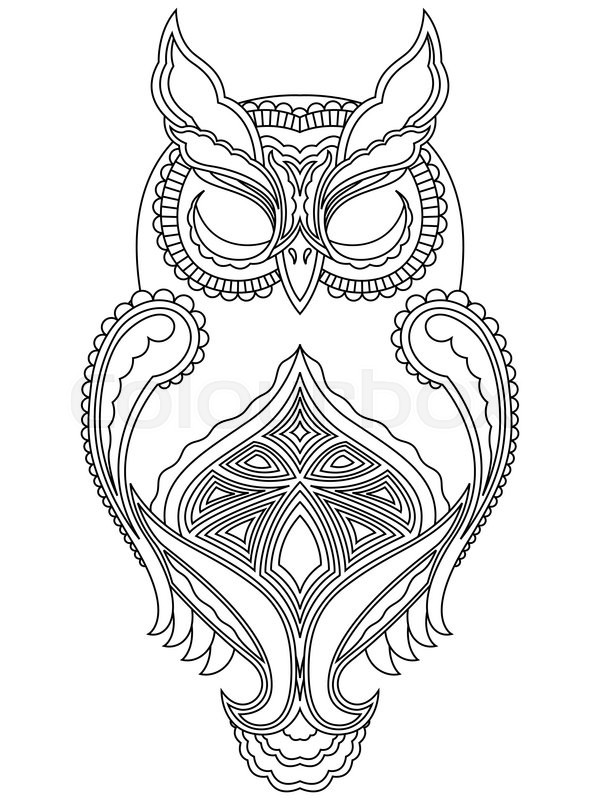 Free Vector Graphic Owl Bird Black And White