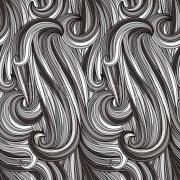vector seamless abstract monochrome