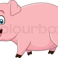 Diagram Of Farm Animals 2003 Lancer Es Stereo Wiring Vector Illustration Cartoon Happy ... | Stock Colourbox