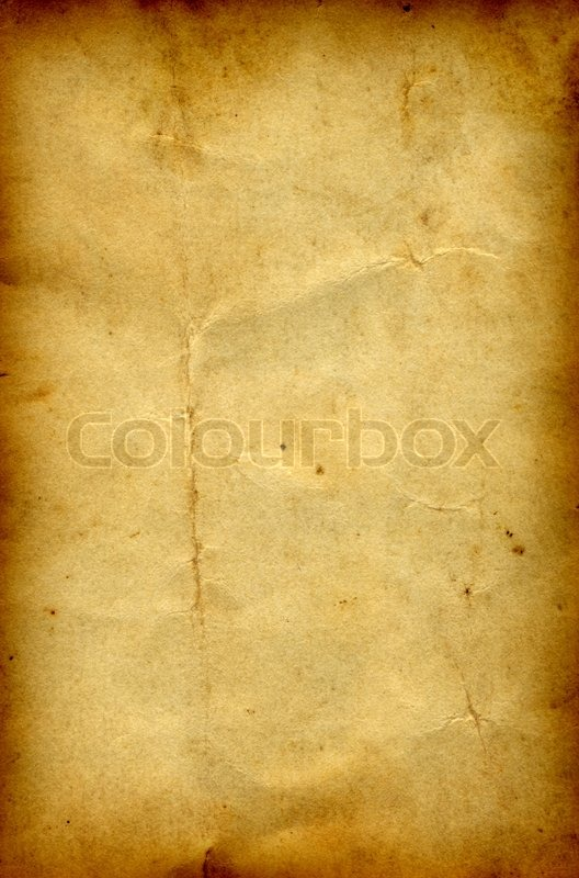 Old paper grunge background with a burned frame  Stock Photo  Colourbox