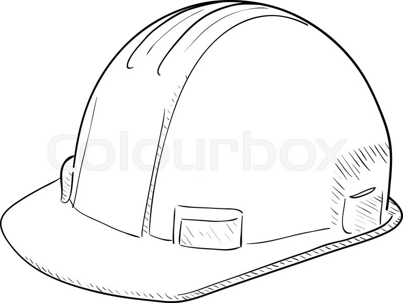 Safety Helm Stock Vector