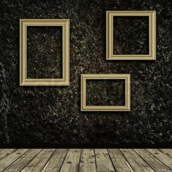 Wall Frames Grunge Background Wallpaper