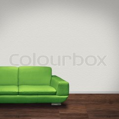 What Colour Walls With Brown Leather Sofa Seat Cushion Covers For Modern Green In Room Dark Floor And ...