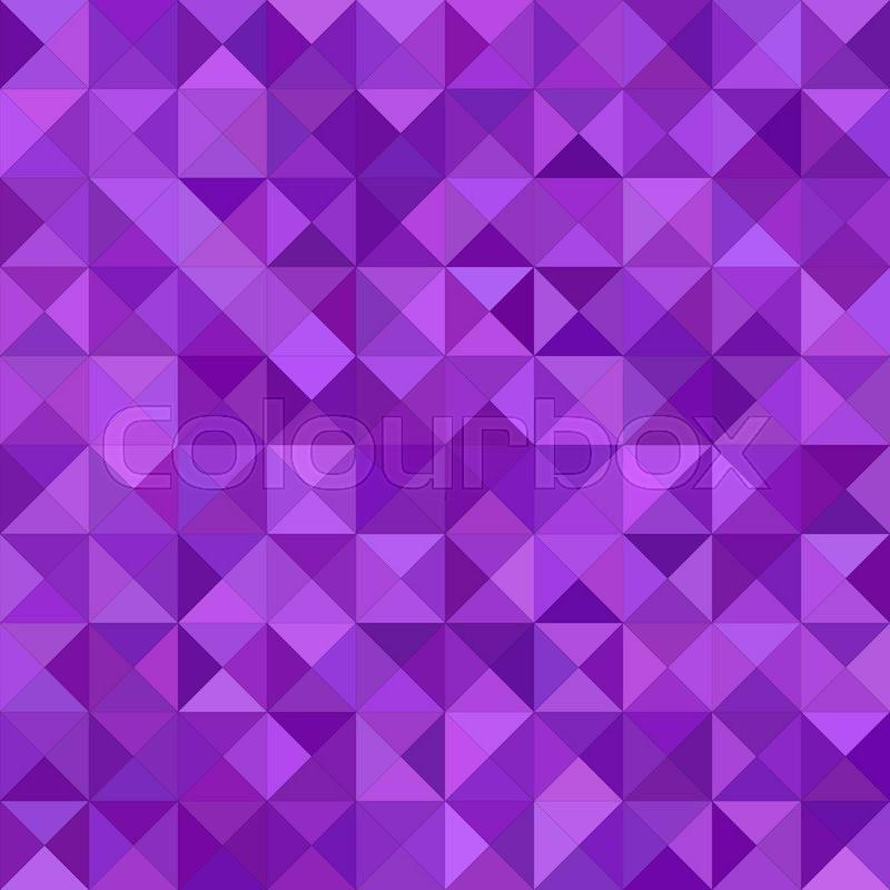 purple color triangle mosaic