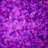 Purple irregular triangle mosaic vector background design ...