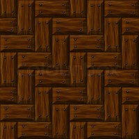Seamless wooden panel door texture with nails background ...