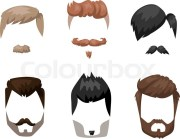 hairstyles beard and hair face