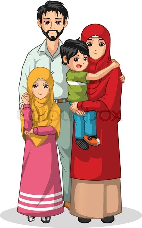 Cartoon family   Etsy