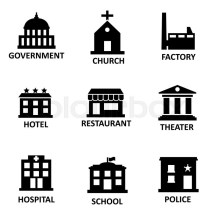 Vector Government Icon