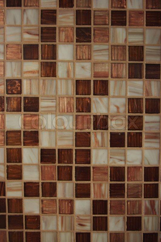 Texture of brown Kitchen tile  Stock Photo  Colourbox