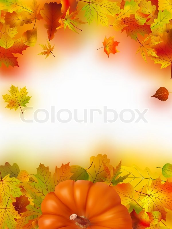 Manly Fall Wallpaper Image And Illustration Composition For Thanksgiving