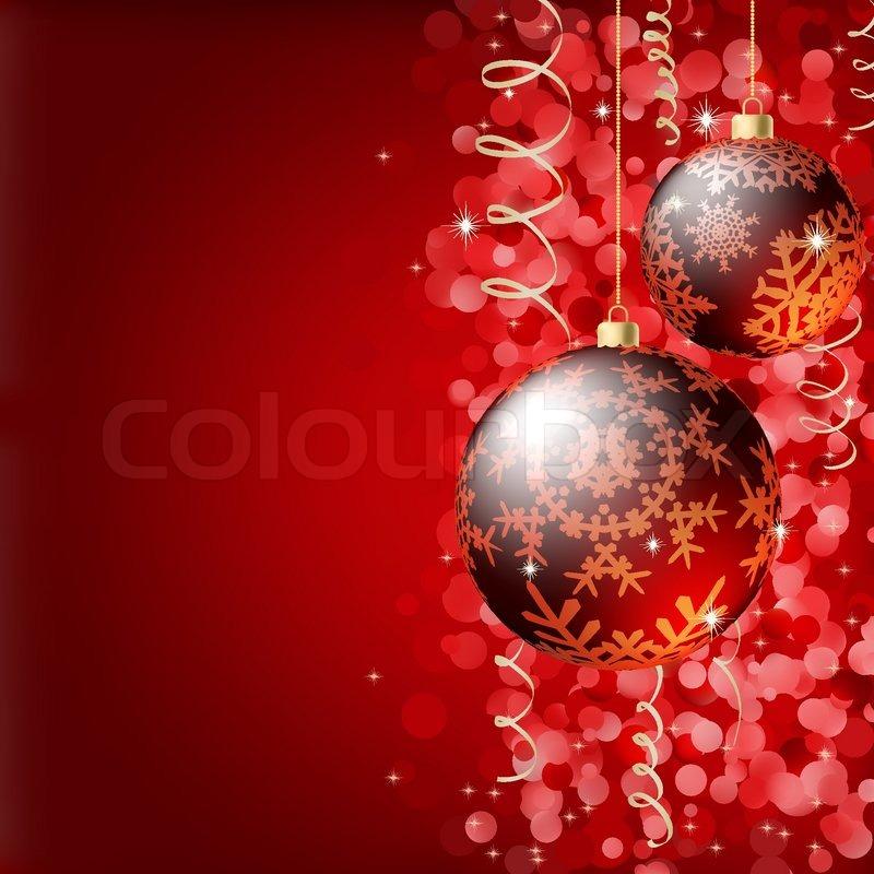 Merry Christmas Elegant Background For Greetings Card EPS