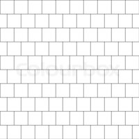 Thin line seamless pattern brick tile, use for background ...