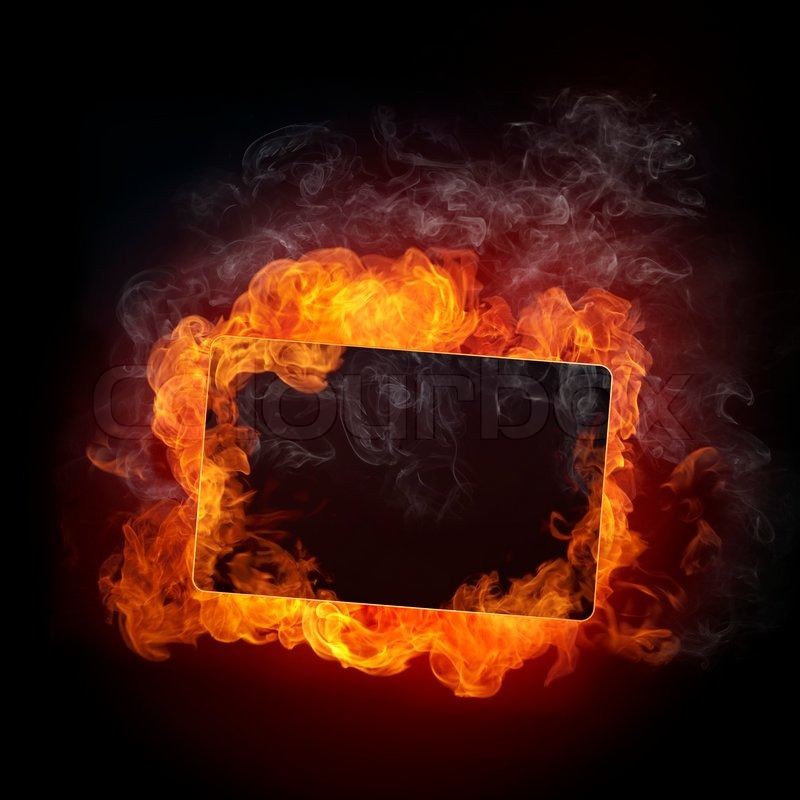 fire background fire isolated