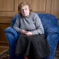 Geriatric Chair For Elderly Rentals Dallas The Old Woman Sits In An Armchair At Home | Stock Photo Colourbox