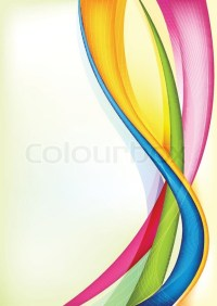 Illustration of abstract vector background with colorful ...