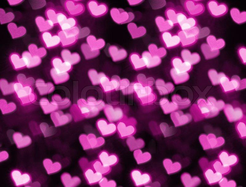 Photo Of Heart Shape Bokeh Stock Photo Colourbox