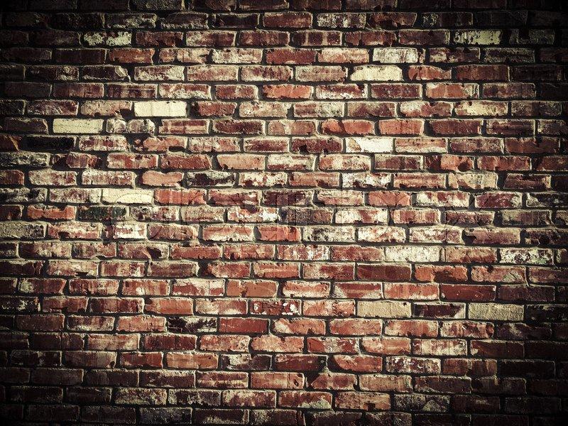 Brick Wall Black And White Wallpaper Old Vintage Brick Wall Texture Stock Photo Colourbox