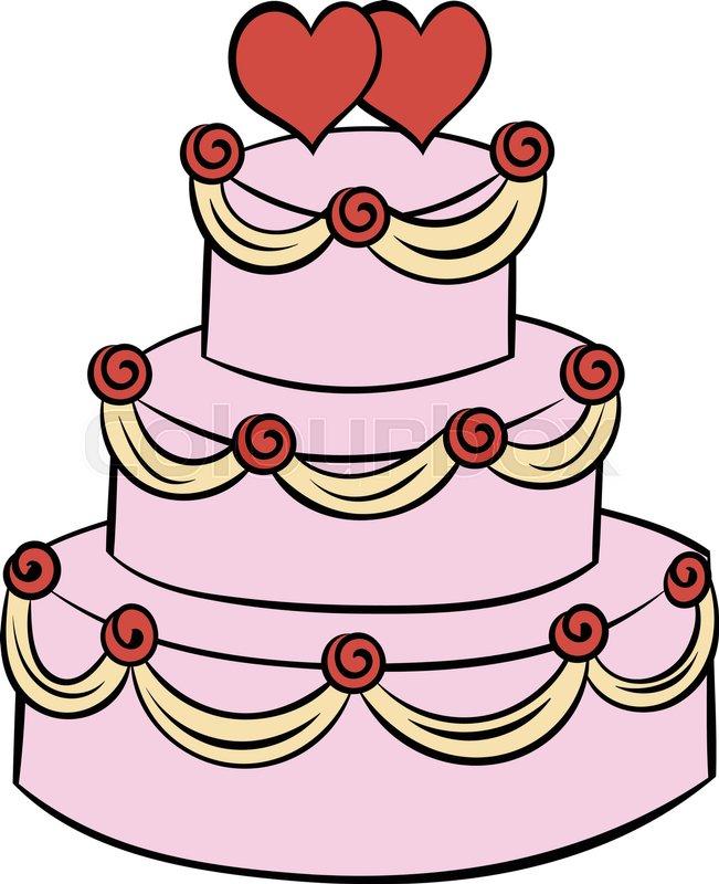 Cartoon date dessert  Vektorgrafik  Colourbox