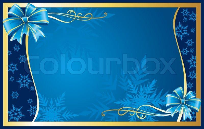 Christmas Greeting Card Stock Vector Colourbox