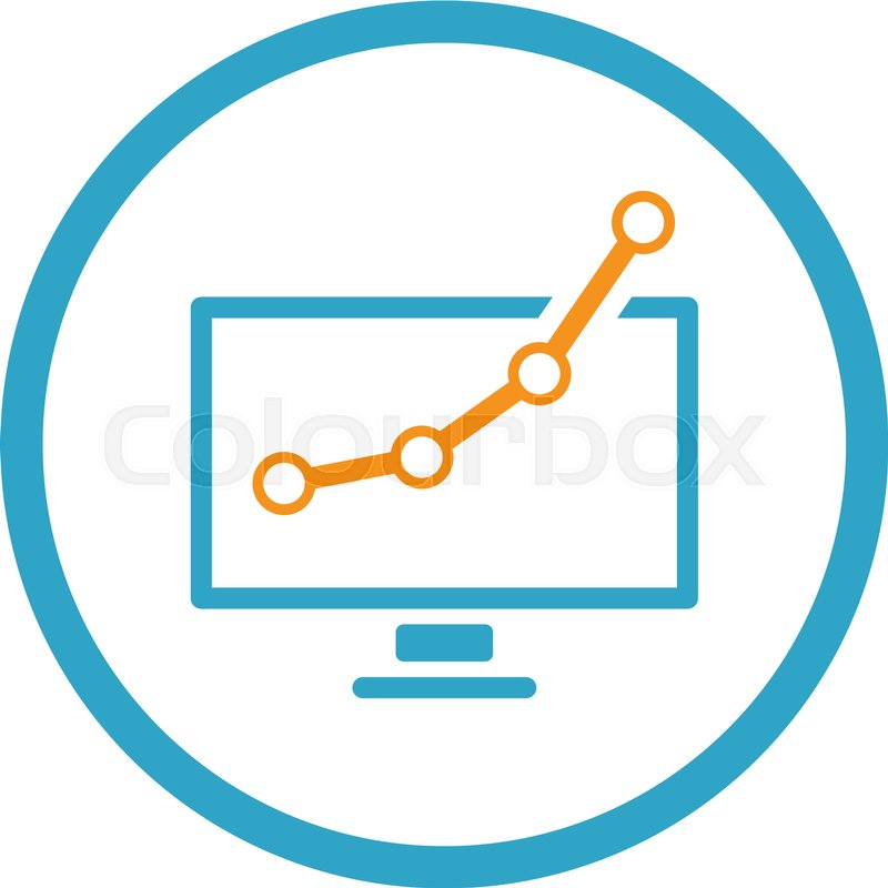 Business Analytics Icon Business Stock Vector Colourbox