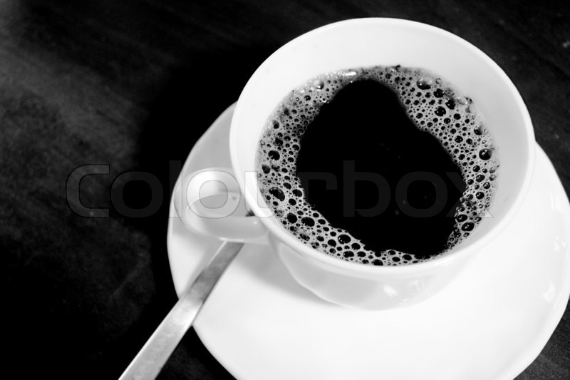 white coffee cup with