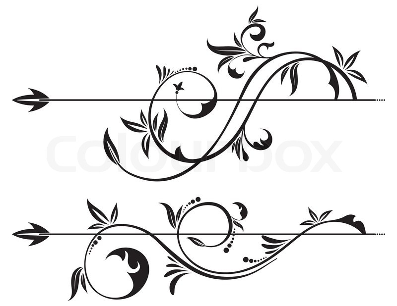 Filigree Stock Vector Image Of Filigree Beautiful Black