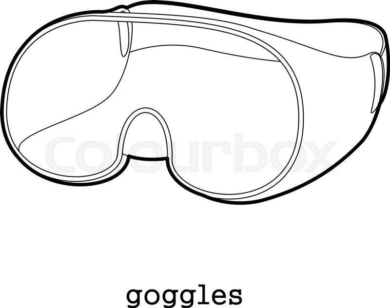Science Goggles Drawing
