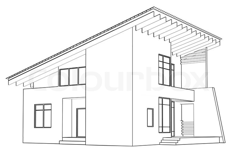 architectural drawing at home