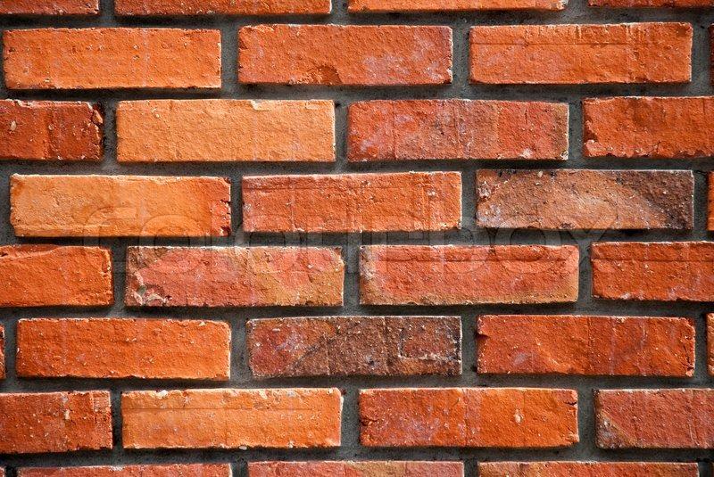 Wallpaper Batu Bata 3d Red Brick Wall Texture Stock Photo Colourbox