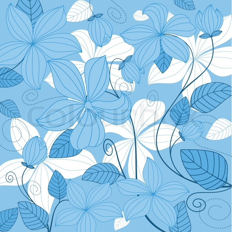 debut invitation background design blue