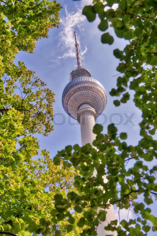 alexanderplatz tower in berlin