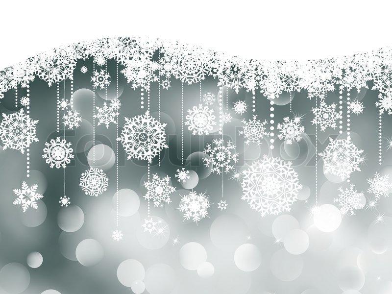 Weihnachten Hintergrund Mit Vektorgrafik Colourbox