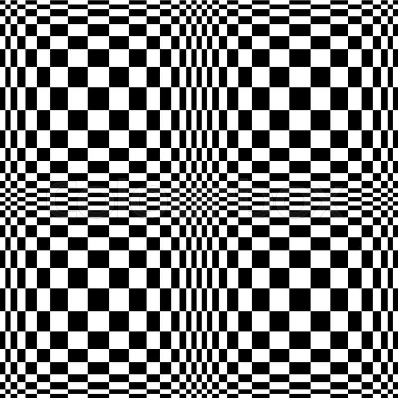 optical illusion vector 3d