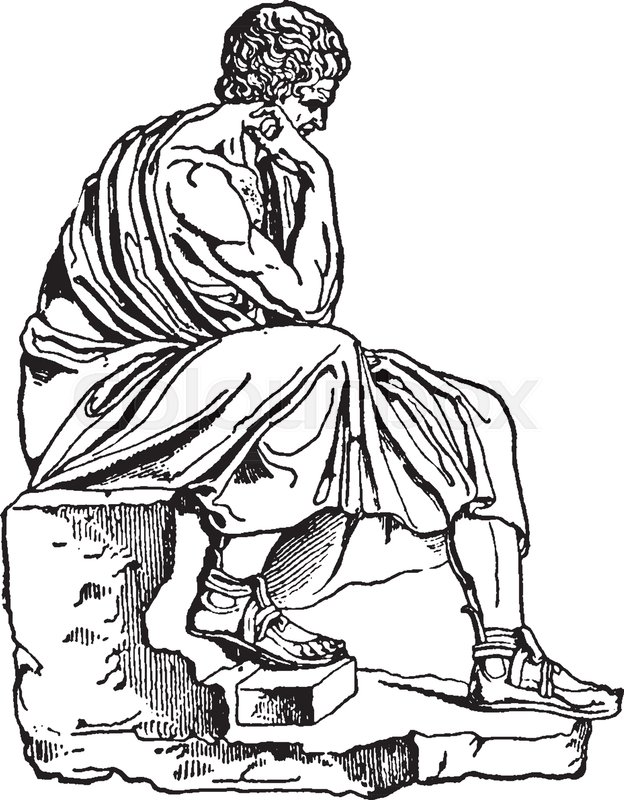 Aristotle, 384-322 BCE, he was an ancient Greek