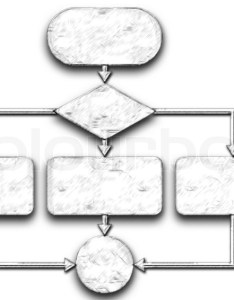 also empty flow chart diagram isolated on stock photo colourbox rh