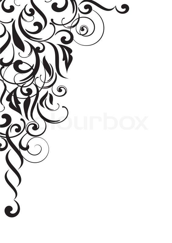 Blade Grafik Blomstret