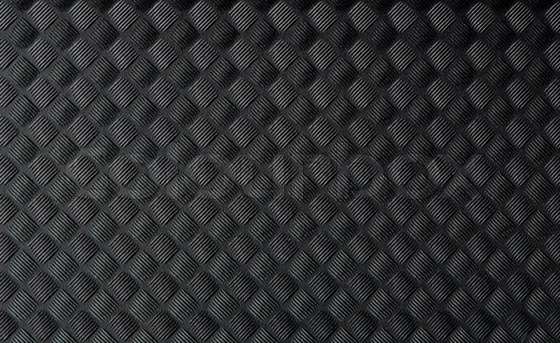 grey sofa fabric texture side table closeup of black rubber mat | stock photo colourbox