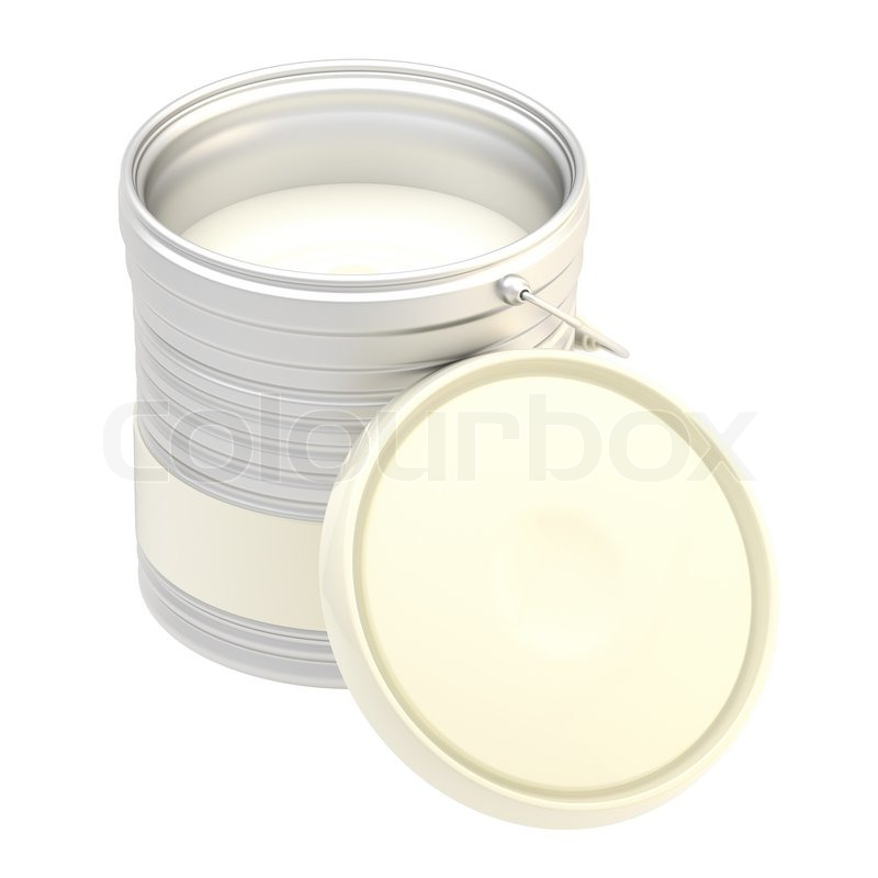 glossy metal white paint