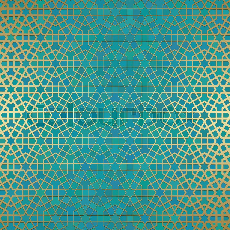 abstract background with islamic
