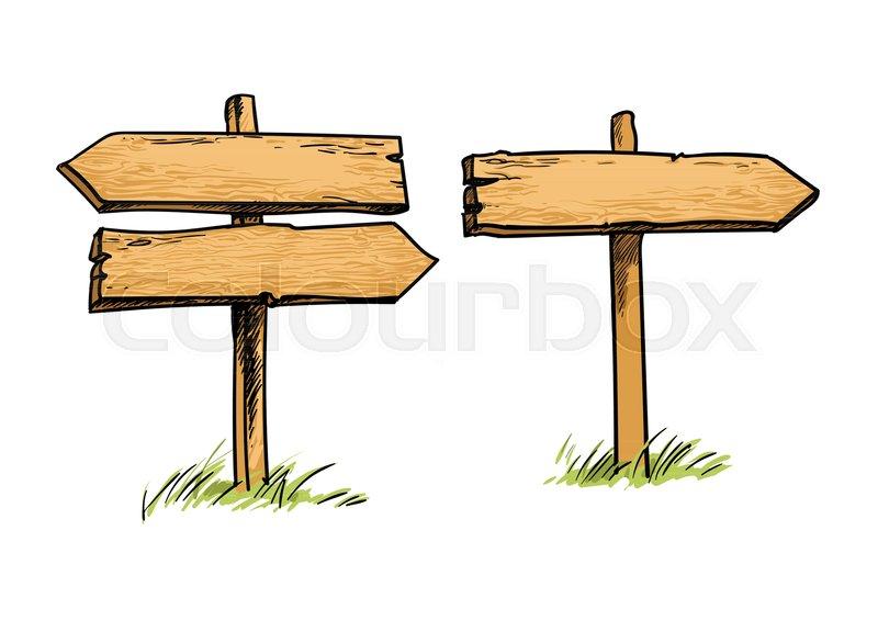 set of old wooden