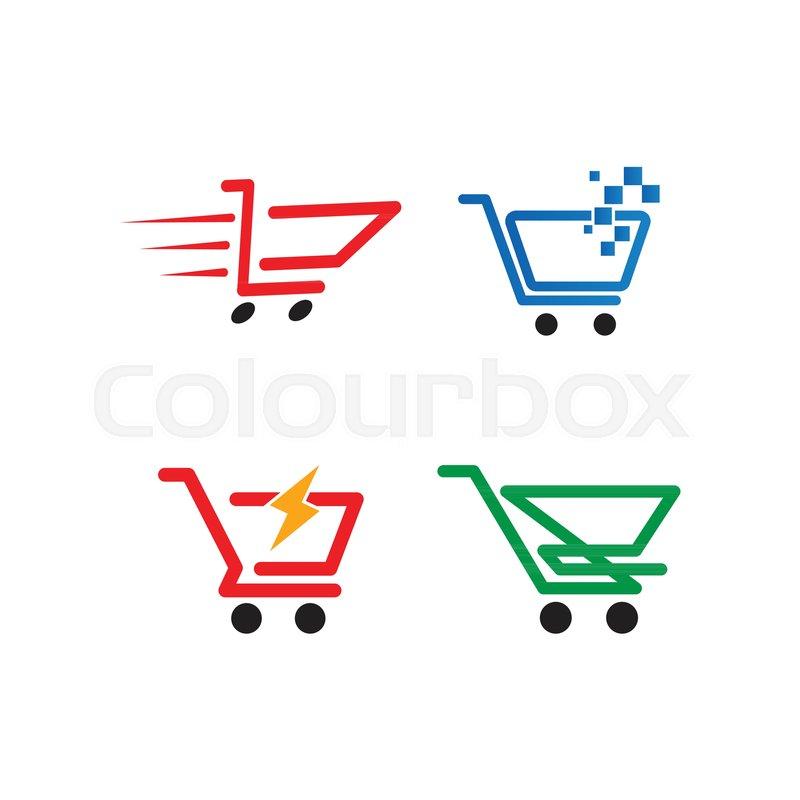 illustration of shopping cart